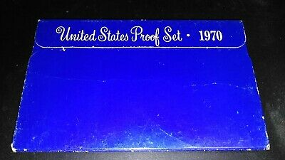 1970-S Proof Set United States US Mint Original Government Packaging Box 5 coins