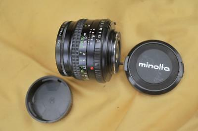 MINT Minolta MD ROKKOR 50mm f/1.7 MF Lens MD/MC Mount From Japan