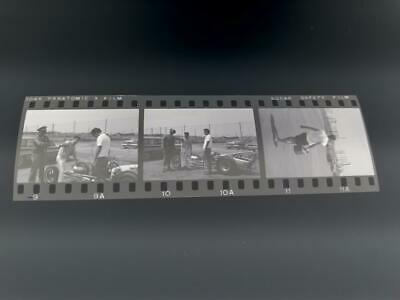Racing-nhra 1960s Lions Drag Strip Racing Negative Strip Of 3 Images Of Dragsters # 9-11 Fan Apparel & Souvenirs