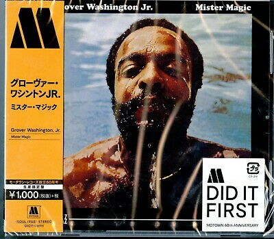Grover Washington Jr Mister Magic Japan Cd Ltd Ed B63