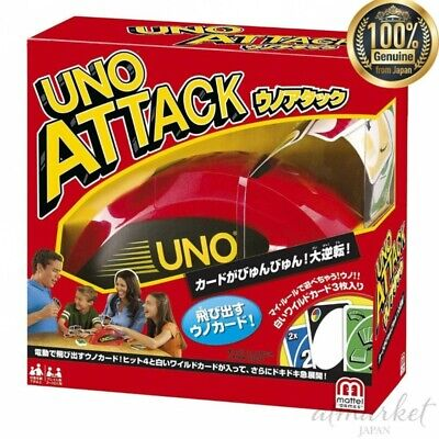 Uno Attack 21-2013W renewal Type Card game MATTEL genuine from JAPAN NEW