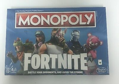 Fortnite Monopoly Limited Edition Board Game* IN HAND*
