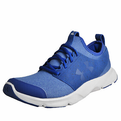 168215 Under Armour Mens Drift Rn Mineral Gray Running Shoes Size 7
