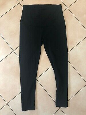 Women's Black Angel Maternity Leggings, M. Soft & Stretchy. Washed, Never Worn!!