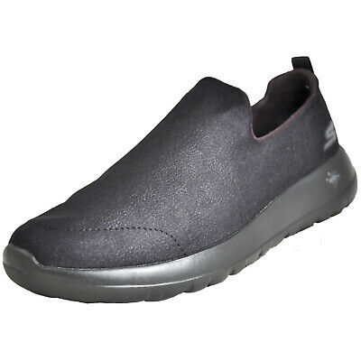 buy online 2d3a6 7ffe0 Skechers Homme Go Walk Max Confort Mousse Baskets à Enfiler Noir