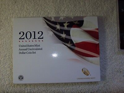 2012 Annual Uncirculated Dollar Coin Set