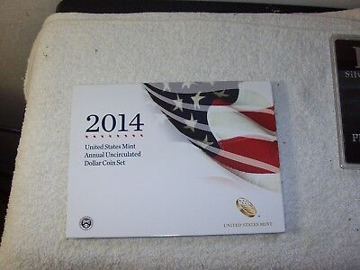 2014 Annual Uncirculated Dollar Coin Set