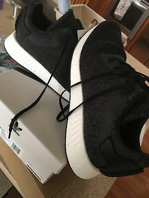 big sale b046e ae7d1 ADIDAS ORIGINALS BY Wings + Horns WH NMD R2 Black Grey White ...