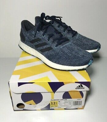 350c46f98a252 New Adidas Pure Boost DPR LTD Running Training Shoes Navy Men s Size 12.5  CG2994