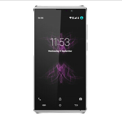 CUBOT P11 5 Inch Android 5.1 8GB ROM MTK6580 Quad-core GPS Smartphone White