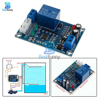 AC/DC 12V Water Level Controller Full Automatic Pump Switch Relay Module XH-M203
