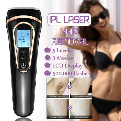 500000 Pulses IPL Laser Permanent Hair Removal For Face Body Home Use Device