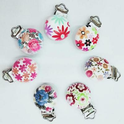 DIY 5X unicorn/Flamingo Baby Pacifier Clip Soother Clasps Teether Accessorie