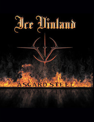 ICE VINLAND - Asgard Steel (NEW*CAN PRIVATE PRESS*EPIC POWER METAL*WARLORD)