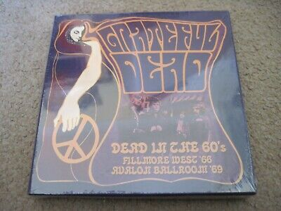 GRATEFUL DEAD Dead In The 60's  3 x CD BOX SET 2017 SOUND STAGE  sealed