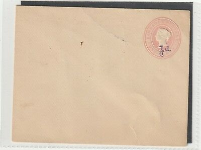 Barbados Queen Victoria Postal Stationery Letter Card 1/2d on 1d Mint Condition