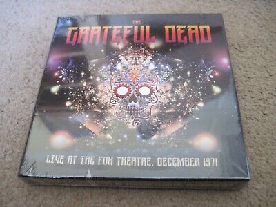 GRATEFUL DEAD Live At The Fox Theatre Dec. 1971  3 x CD BOX SET 2017   sealed
