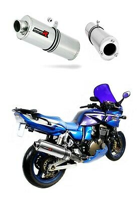 Exhaust silencer muffler DOMINATOR OVAL KAWASAKI ZRX 1200 S 01-07 + DB KILLER