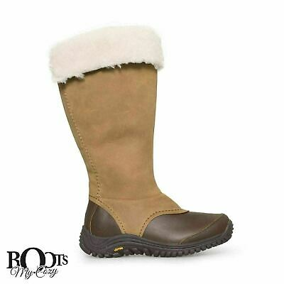 9b6dc991b1b UGG MIKO CHESTNUT Leather Tall Waterproof Women's Boots Size Us 6.5/Uk 5/Eu  37.5