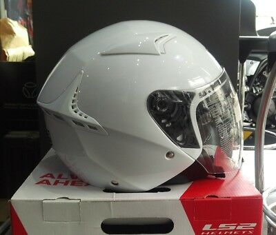MDS (by AGV) G240 White Open Face Helmet - Extra Large - New but Ex-Display