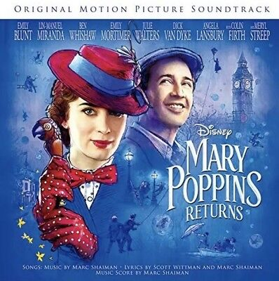 Mary Poppins Returns CD Soundtrack New & Sealed