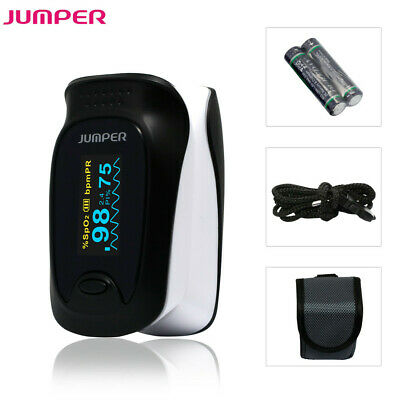 OLED Fingertip Pulse Oximeter Finger Tip Blood Oxygen Saturation SpO2 Monitor