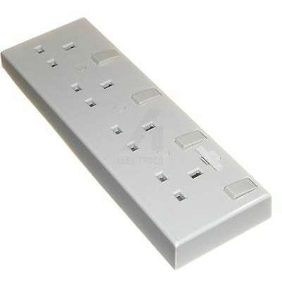 Converter Socket Convert Single or Double sockets to 4 Gang Switched Wall Outlet