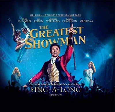 Ost-The Plus Grand Showman ( Sing Along Edition) -japan 2 CD+ Livre G82