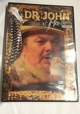 Dr John Live At Montreux 1995 Music DVD PAL Region Free New Sealed