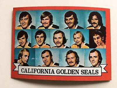 1973-74 Topps #95 California Golden Seals Team Card NHL Hockey NM Condition *