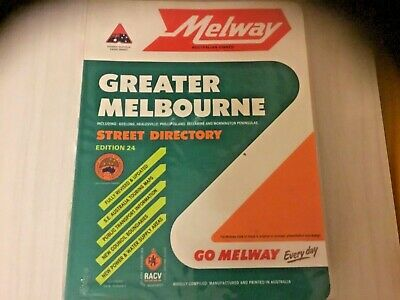 Vintage melways 1996 Ed 24 great condition still has the plastic protector