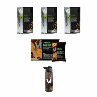 Kit Visalus: Vi-Cruch Fusion Chocolate Macadamia - Nutra-Cookie Chocolate Chip