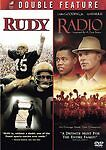 Rudy / Radio Double Feature (DVD) LIKE NEW DISC + COVER ARTWORK - NO CASE
