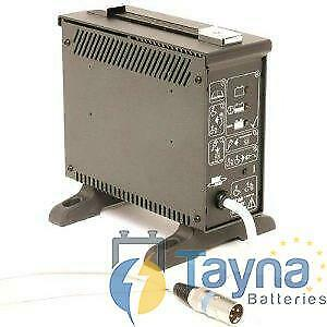 MK 24V 8Amp Batterie Charger with 3-pin plug.