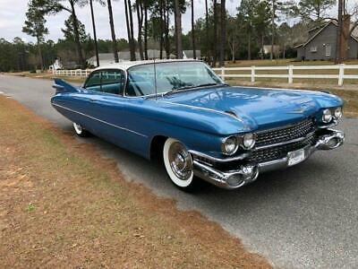 1959 DeVille Coupe DeVille Power steering, brakes, windows,seat 1959 Cadillac DeVille Coupe DeVille Power steering, brakes, windows,seat 89,956
