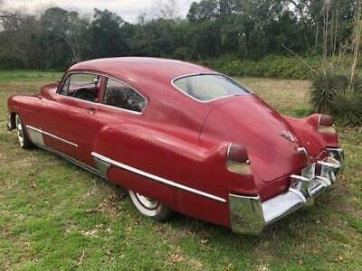 1949 Cadillac DeVille Seadanette GREAT RUNING AND DRIVING 1949 Cadillac DeVille Seadanette GREAT RUNING AND DRIVING 91,953 Miles Red  472