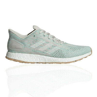 new arrival 233e7 f6490 adidas Womens Pure Boost DPR Running Shoes Trainers Sneakers Green White  Sports