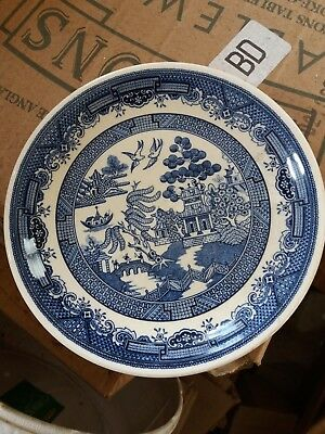 "Biltons 7.5"" Blue Willow Tea Plate x 6."