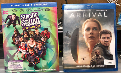 Lot 10 Blu Ray Suicide Squad  Star Trek  Fantastic Four