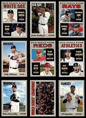 2019 Topps Heritage Baseball Complete Master Set Series 1 (1-500 w/SPs) NM/MT