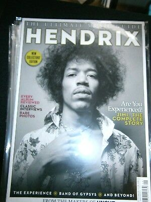Ultimate Music guide Hendrix From The Makes Of Uncut Bookazine 2016 (new)