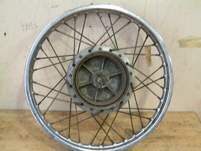 Yamaha rs200 front spoked wheel