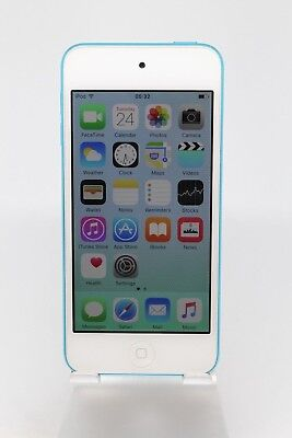 Apple iPod Touch 5th Gen 16GB Grade A White/blue *Free Recorded P&P UK Seller*