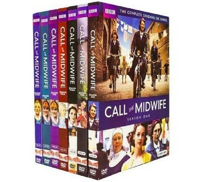 Call the Midwife: Complete Series Seasons 1-7  DVD Set
