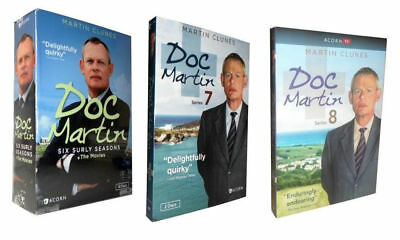 Doc Martin: The Complete Series Season 1 -8  + Movies DVD   21 Disc