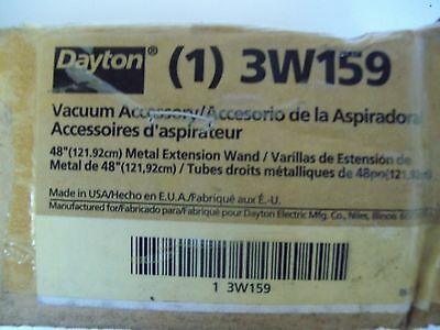 Dayton 3W159 48 Inch Wand Extension - Nos - Free Shipping!!!
