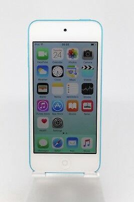 Apple iPod Touch 5th Gen 32GB White/blue Free Recorded P&P UK Seller