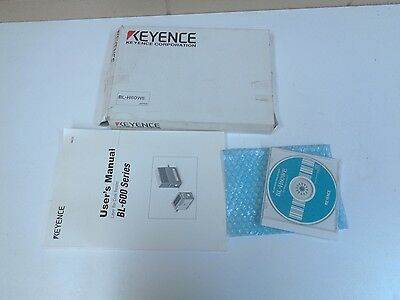Keyence Bl-H60We Manual And Software For Barcode Reader - Nos - Free Shipping!!!
