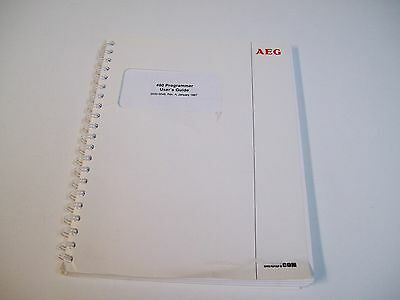 Aeg 2000-0049 480 Programmer User's Guide Manual - Used - Free Shipping