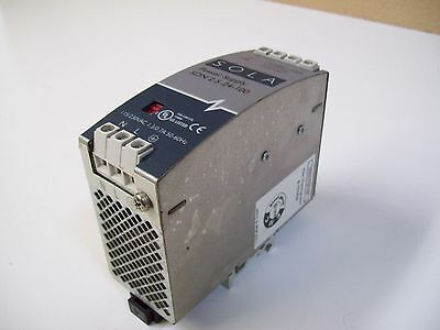 Sola Sdn 2.5-24-100 Power Supply 115/230Vac 1.3/0.7A - Used - Free Shipping
